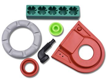 Silicone Moulded Parts - LSR (Liquid Silicone Rubber)